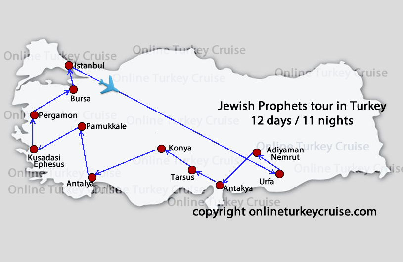 Jewish Prophets tour in Turkey