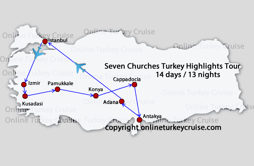 Seven Churches highlights Tour